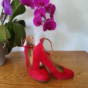 Just Fab Red Box Heel